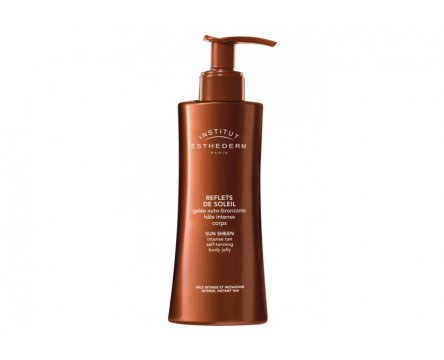 ESTHEDERM SUN SHEEN LIGHT TAN SELF TANNING BODY LOTION - samoopaľovacie mlieko 150ml
